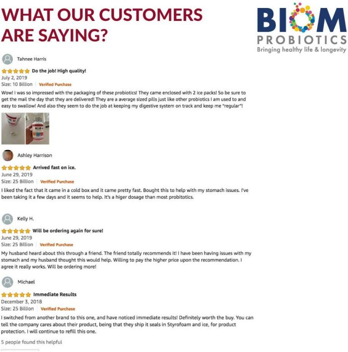 Top immune system booster product | Biom Probiotics 3-in-1 Formula 10 Billion