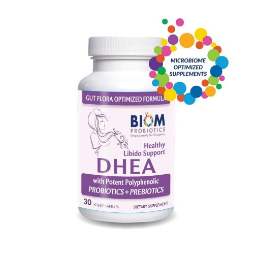 BIOM DHEA | GUT-OPTIMIZED BIOM DHEA | Biom DHEA Supplementation