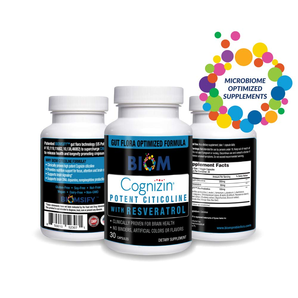 Sarasota's #1 brain health supplement | Cognizin Potent Citicoline | Biom Probiotics | Biom Nutritional Supplements | Best brain health supplement |Biom Nutritional Supplements