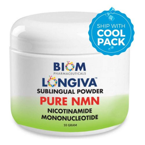 Promotes Healthy Aging | Biom Probiotics | Biom NMN Sublingual Powder