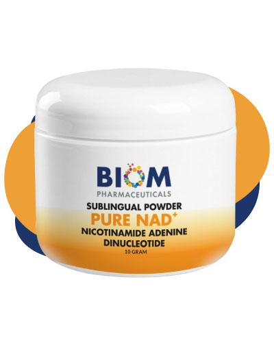 1- Liposomal NMN | Biom Probiotics | Longiva | Age-Related Degeneration | Microbiome Research