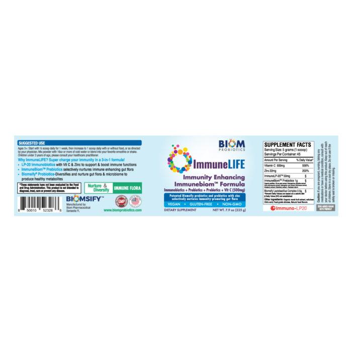ImmuneLife | Biom Probiotics