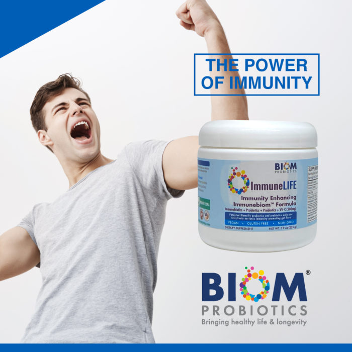 ImmuneLIFE | The power of immunity | Biom Probiotics