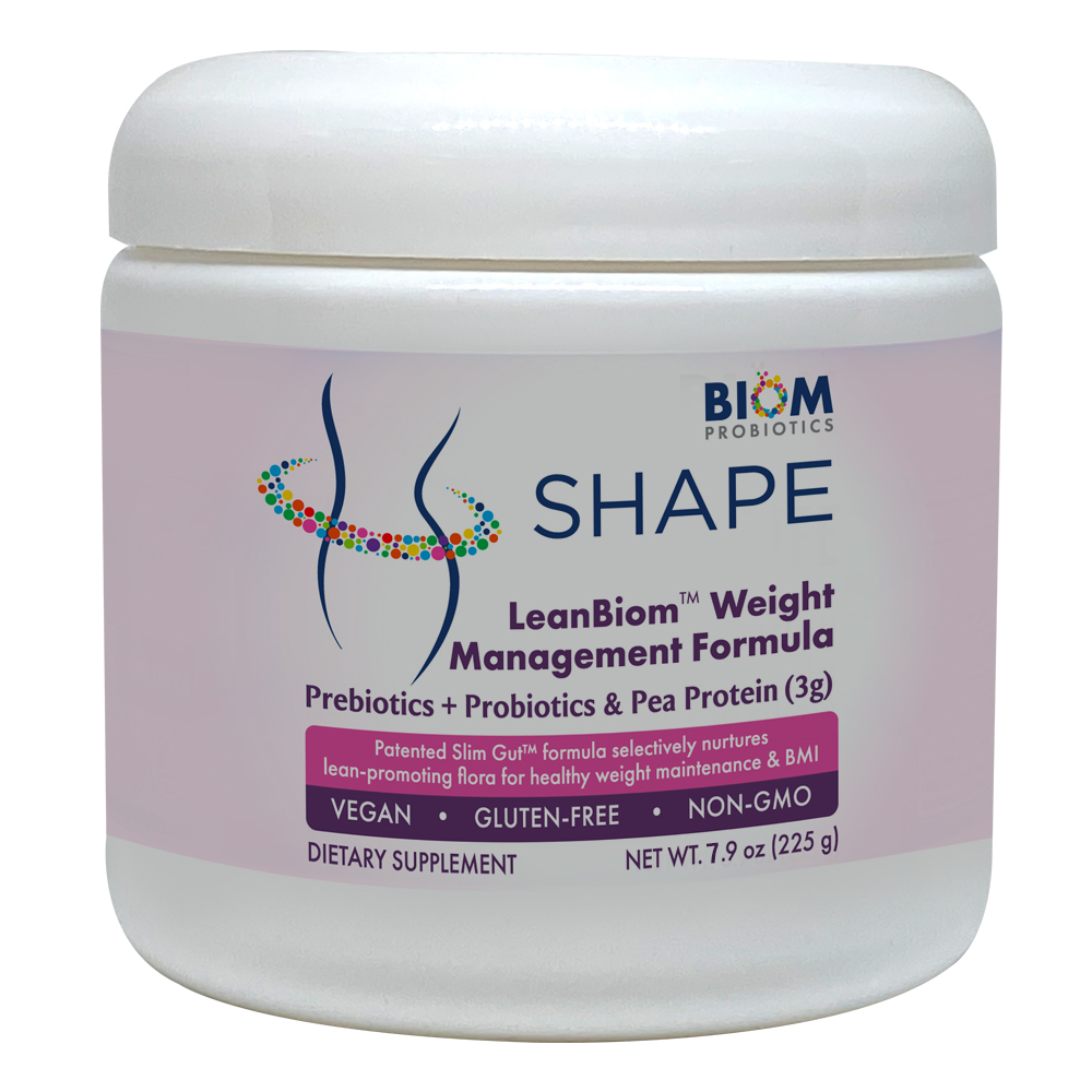 Shape-Leanbiom weight management | Best Weight Maintenance probiotics | Biom Probiotics