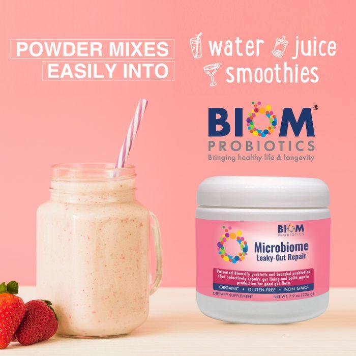 Leaky Gut Repair | Precision Probiotics+Prebiotics supplement | Biom