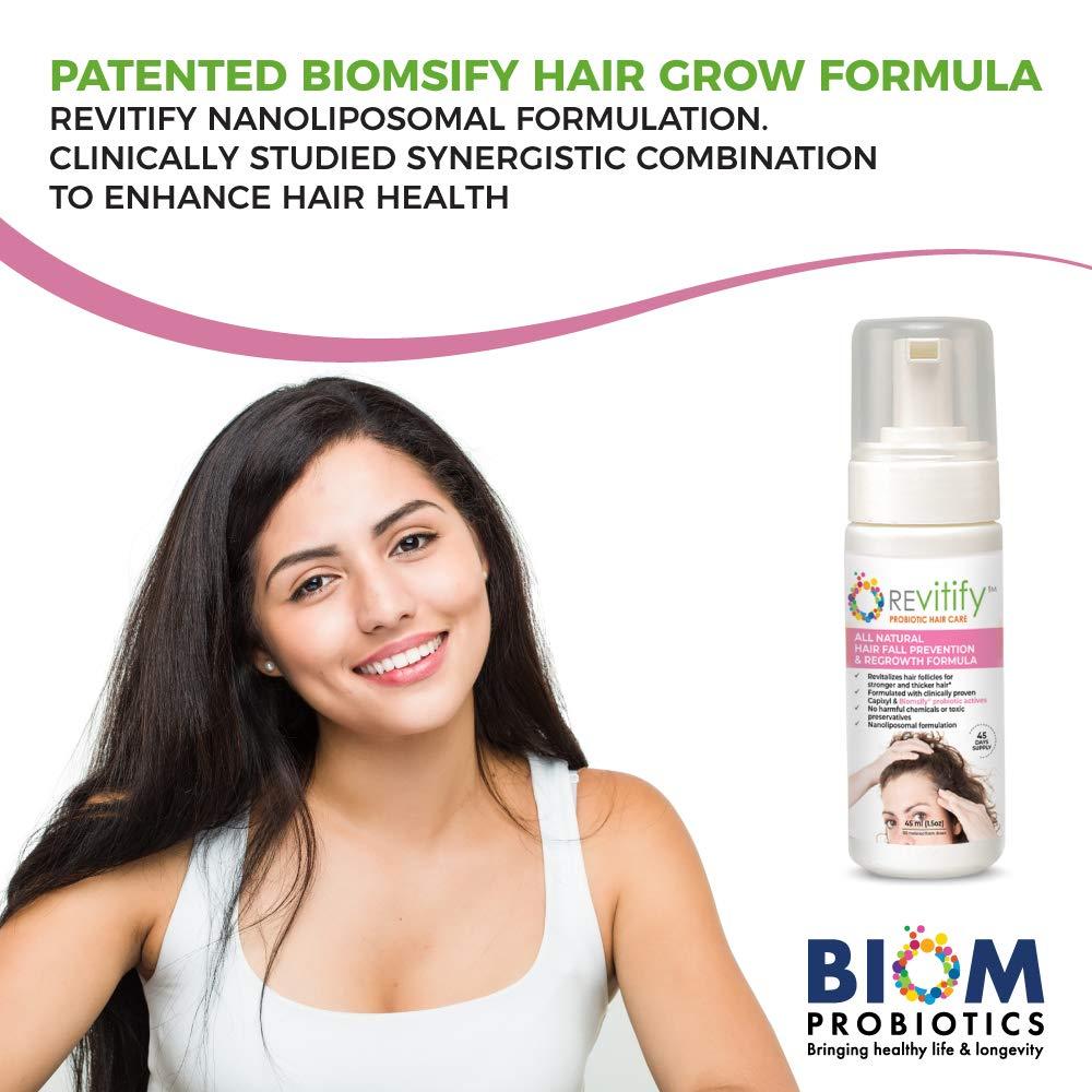 Revitify Hair Growth Serum | Probiotic Hair Growth Serum | Biom